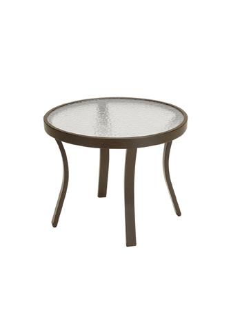 Tropitone Furniture Co., Inc. - Acrylic Round Tea Table - 9382A