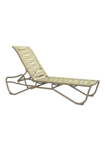 Tropitone Furniture Co., Inc. - Millennia EZ Span Armless Chaise Lounge - 951533WV