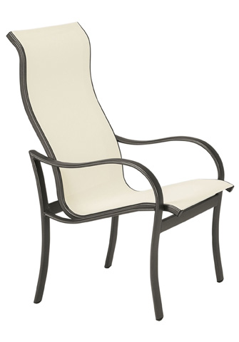 Tropitone Furniture Co., Inc. - Shoreline Sling High Back Dining Chair - 960201
