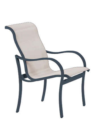 Tropitone Furniture Co., Inc. - Shoreline Sling Dining Chair - 960237
