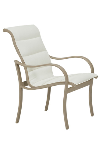 Tropitone Furniture Co., Inc. - Shoreline Padded Sling Dining Chair - 960237PS