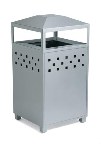 Tropitone Furniture Co., Inc. - Boulevard Waste Receptacle - 990589B-NA