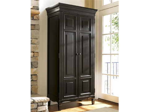 Image of Tall Cabinet Armoire in Midnight
