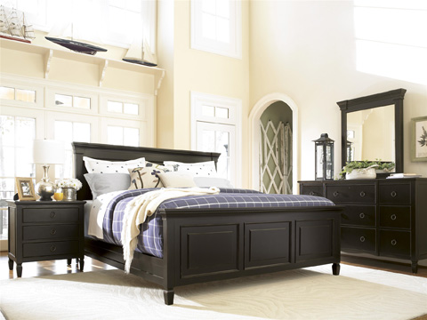Universal Furniture - Three Drawer Lift Top Nightstand in Midnight - 988350