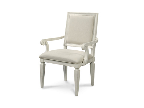 Image of Woven Accent Dining Arm Chair