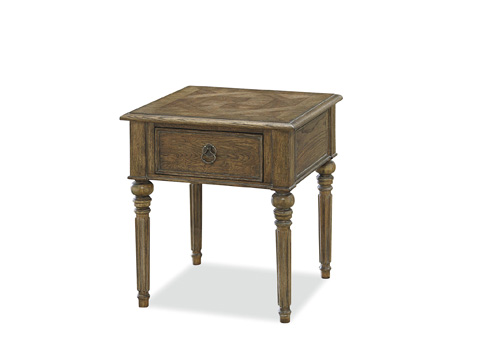 Image of New Bohemian Drawer End Table