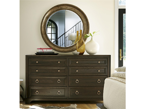 Universal Furniture - California Round Mirror - 47509M