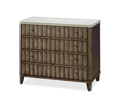 Universal Furniture - California Accent Chest with Stone Top - 475360