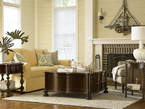 Universal Furniture - River House The Family Room Table - 393801