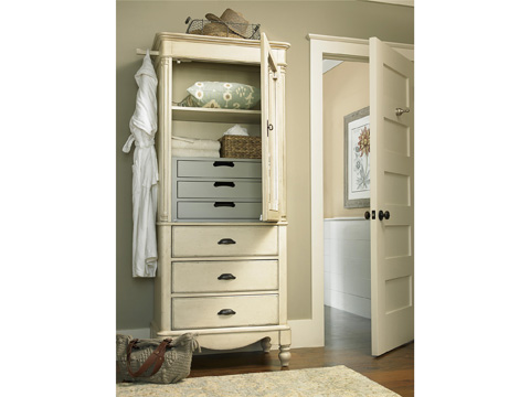 Universal Furniture - River House Dressing Armoire - 394100