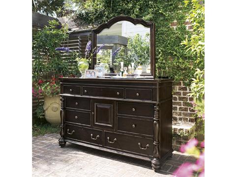 Paula Deen Home - Paula Deen Home Decorative Landscape Mirror - 93205M