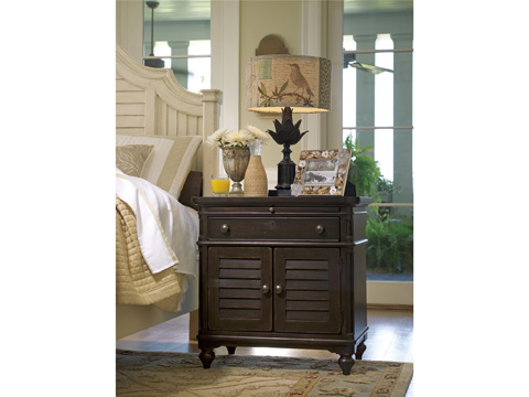 Image of Paula Deen Home Door Nightstand