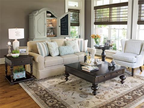 Paula Deen Home - Paula Deen Home Rectangular End Table - 932802