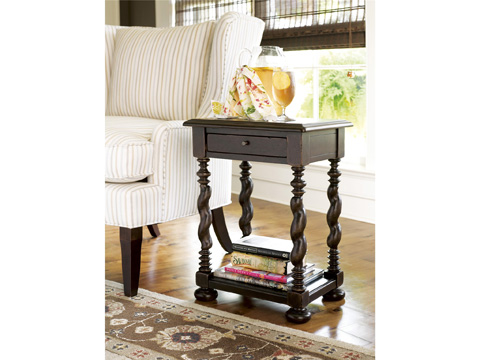 Paula Deen Home - Paula Deen Home Sweet Tea Side Table - 932827