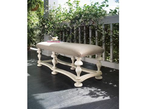 Paula Deen Home - Paula Deen Home Bed End Bench - 996380-RTA