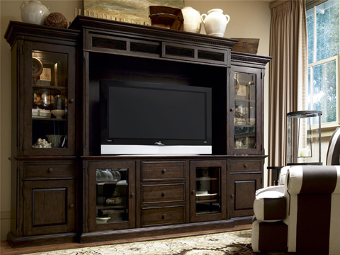 Image of Home Entertainment Wall System