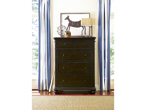 Image of Paula Deen Guys Five Drawer Chest