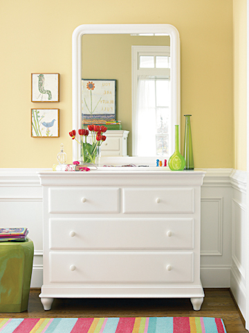 Universal - Smart Stuff - Classics 4.0 Single Dresser with Storage Mirror - 131A030/131A001