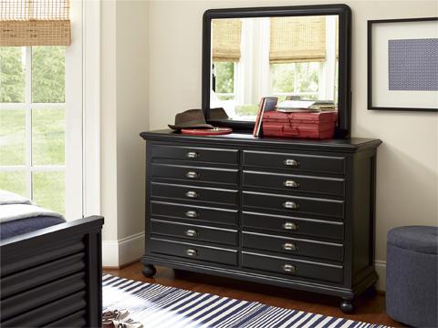 Universal - Smart Stuff - Black and White Landscape Mirror - 437B032