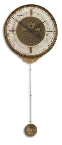 Uttermost Company - Leonardo Chronograph Cream Wall Clock - 06004