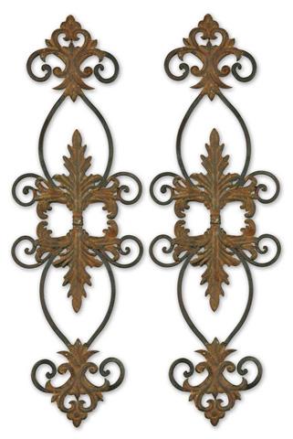Uttermost Company - Lacole Rustic Metal Wall Art - 13387