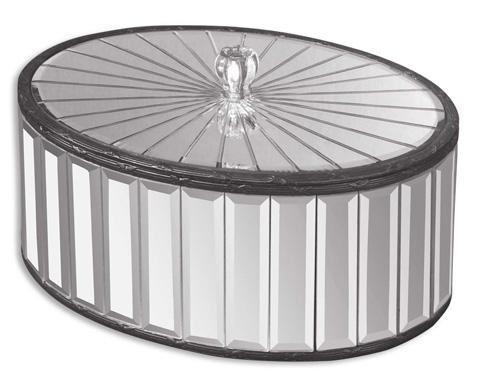 Uttermost Company - Alanna Mirrored Box - 19308