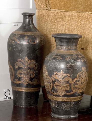 Uttermost Company - Mela Terracotta Decorative Vase - 19318