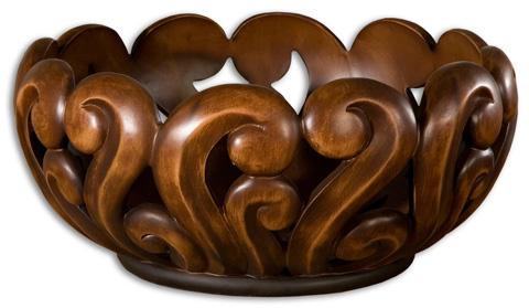 Uttermost Company - Merida Wood Tone Decorative Bowl - 19493