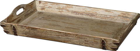 Uttermost Company - Abila Wooden Tray - 19725