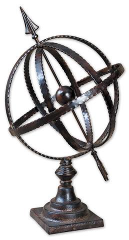 Uttermost Company - Diez Metal Globe - 20991