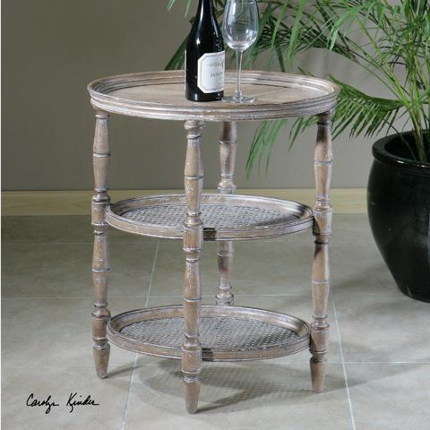Uttermost Company - Kendellen Antique Accent Table - 24311