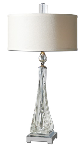 Uttermost Company - Grancona Twisted Glass Table Lamp - 26294-1