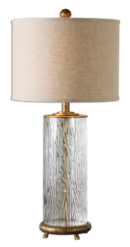 Uttermost Company - Tomi Glass Table Lamp - 26860-1