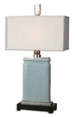 Uttermost Company - Azure Light Blue Table Lamp - 27752-1