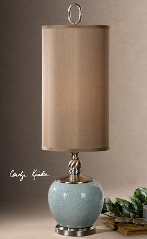 Uttermost Company - Lilia Light Blue Buffet Lamp - 29279-1
