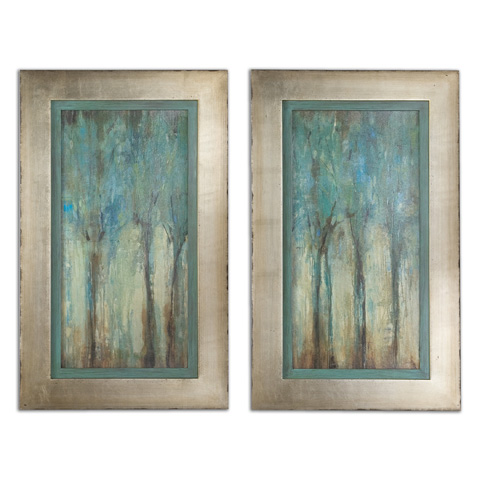 Uttermost Company - Whispering Wind Framed Art - 41410