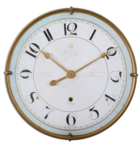 Uttermost Company - Torriana Wall Clock - 06091