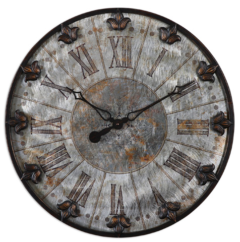 Uttermost Company - Artemis Wall Clock - 06643
