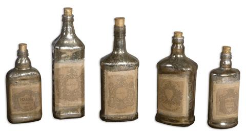 Uttermost Company - Recycled Bottle Set - 19754
