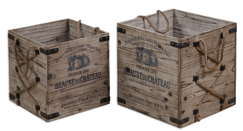 Uttermost Company - Bouchard Crates - 19782