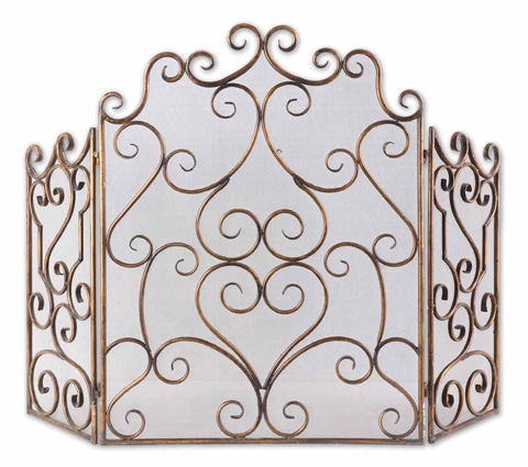 Uttermost Company - Kora Fireplace Screen - 20467