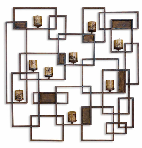 Uttermost Company - Siam Candlelight Wall Sculpture - 20850