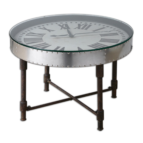 Uttermost Company - Cassem Clock Table - 24321