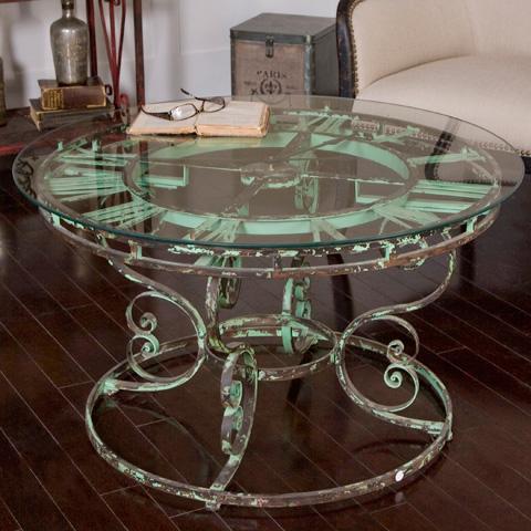 Uttermost Company - Gilbertine Clock Table - 24349