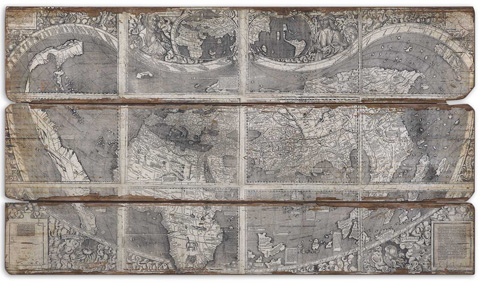 Uttermost Company - Map Of The City Wall Art - 32524