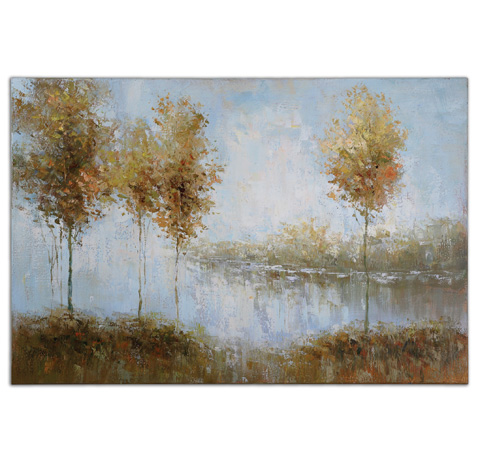 Uttermost Company - View Of The Lake Wall Art - 34266