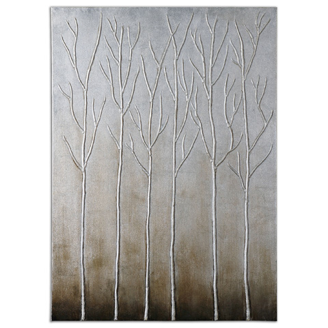 Uttermost Company - Sterling Trees Wall Art - 35105