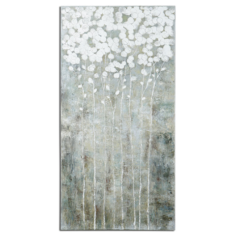 Uttermost Company - Cotton Florals Wall Art - 41908