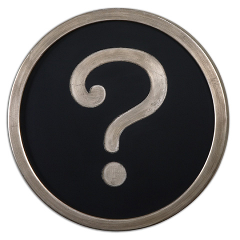 Uttermost Company - Question Mark Wall Décor - 13870