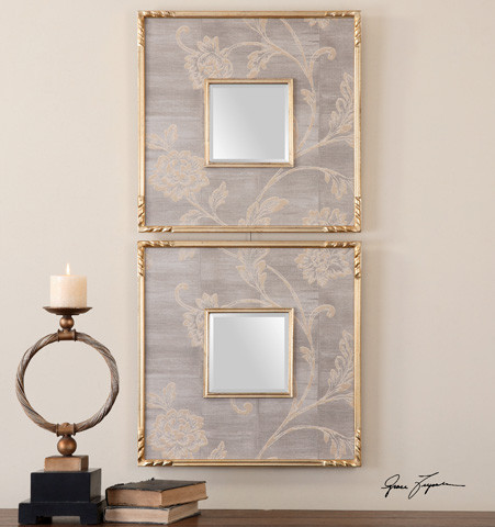 Uttermost Company - Evelyn Squares Mirror - 14493